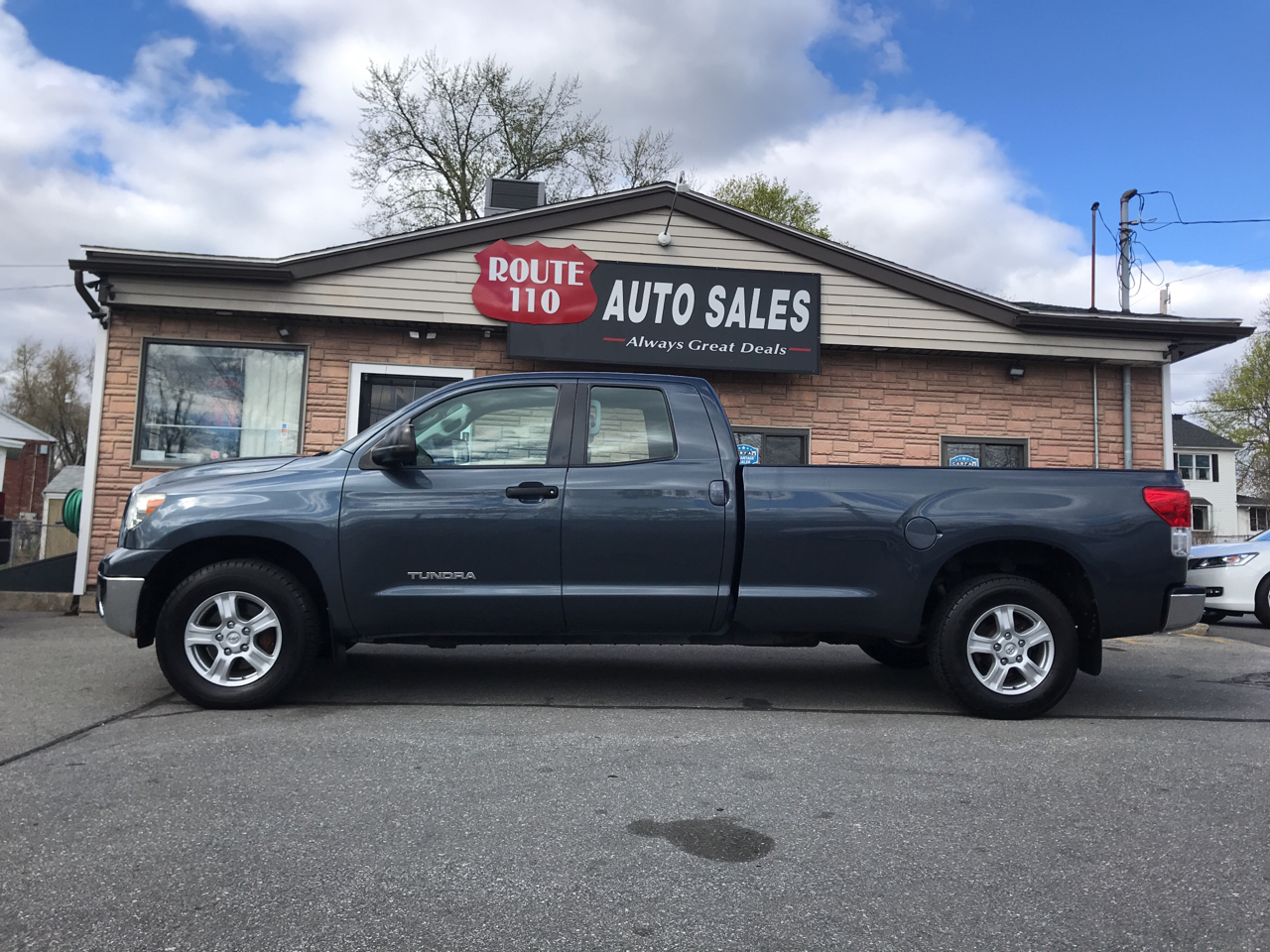 2010 Toyota Tundra Tundra-Grade 4.6L Long Bed Double Cab 4WD