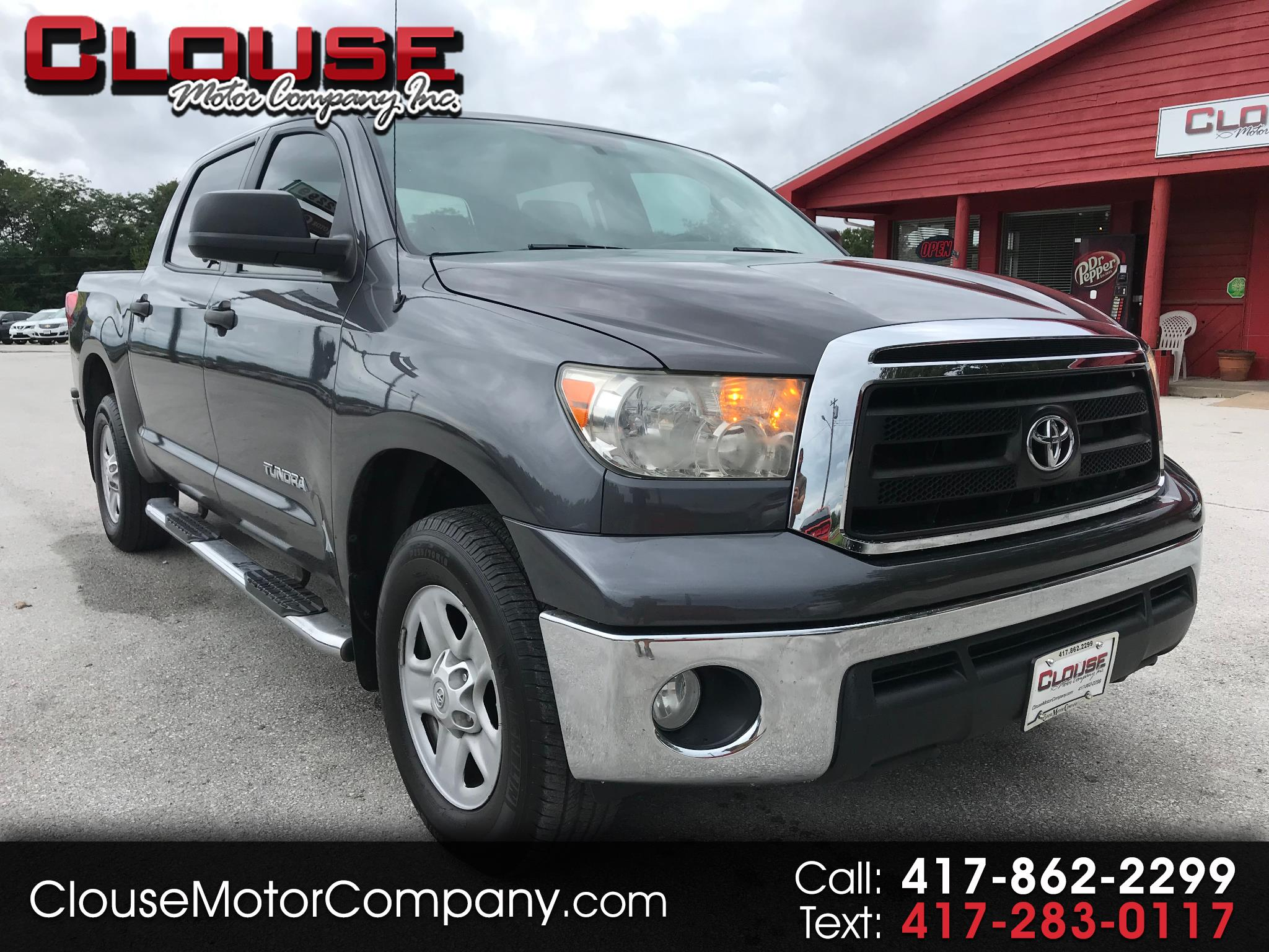 2012 Toyota Tundra 4WD Truck CrewMax 4.6L V8 6-Spd AT (Natl)