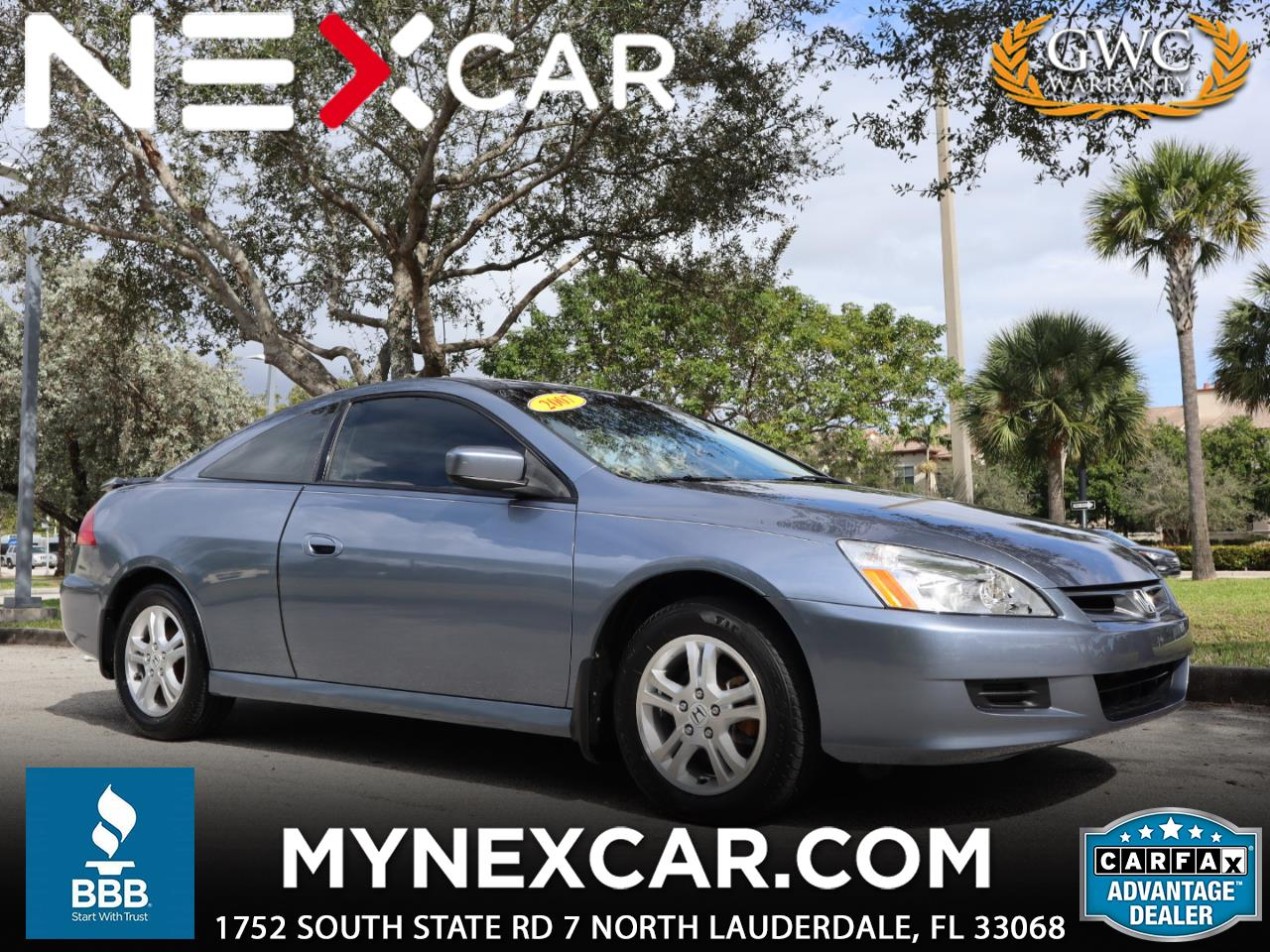2007 Honda Accord Cpe 2dr I4 AT EX-L
